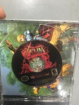 Zelda Ocarina of Time Master Quest bonus disk Gamecube DISK ONLY A3