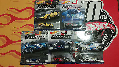 Hot Wheels Circuit Legends  Choise/Choix lot ou à l'unitè ( N25)