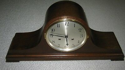 Antique Junghans German Mantle Clock-Two Tone Chime