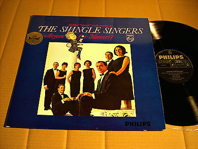 The Swingle Singers - Anyone For Mozart? - Lp - Philips 842 110 By (3)