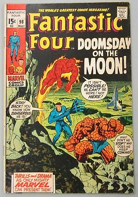 Fantastic Four #98 (May 1970, Marvel)