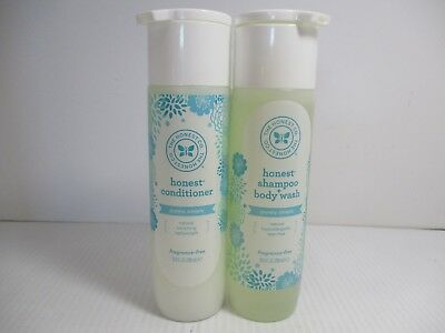 2 The Honest Co Shampoo - Conditioner Purely Simple As Shown  10 Oz Ea Jl 6656