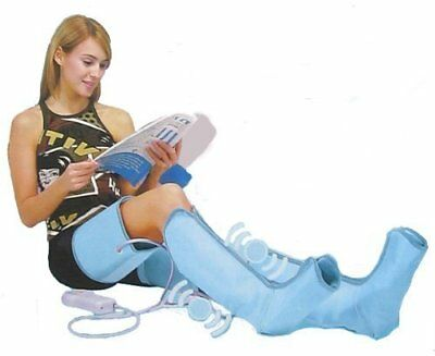 IGIA Air-o-sage Air Leg Massager Deluxe Boots warm circulation booster pain box
