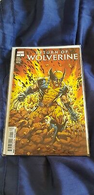 Marvel Comic Return of Wolverine #1 First Print Brand New! Mint Condition!