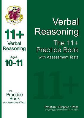 11+ Verbal Reasoning Practice Book with Assessment Tests (Ages 10-11), Acceptabl