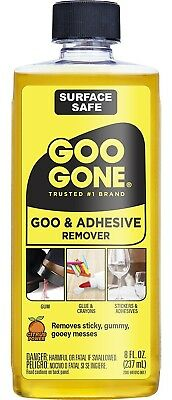 Magic Goo Gone Orignial Liquid  8 oz Bottle Removes Gum Grease and Tar