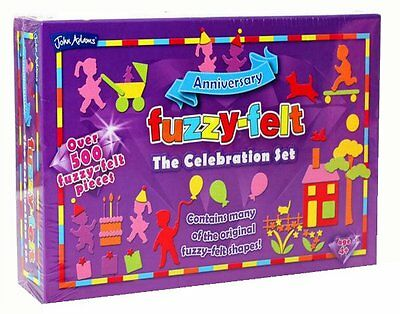 FUZZY FELT 60th Anniversary CELEBRATION Deluxe SET - over 500 pieces John Adams