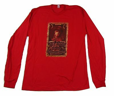 Tom Petty Heartbreakers 2006 Tour Red Long Sleeve Shirt New Official Merch NOS