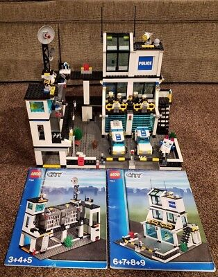 Lego 7744 City Police Headquarters With Instructions 5300 Picclick