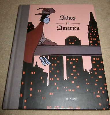 Athos in America by Jason (Fantagraphics) Hardback Graphic Novel