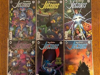 The Jetsons #1 2 3 4 5 6 COMPLETE (2017) DC VF+/NM