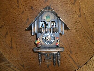 Vintage Animated Cuckoo Clock Made in Germany