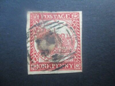 NSW Stamps: 1d Sydney Views No clouds Used  (k154
