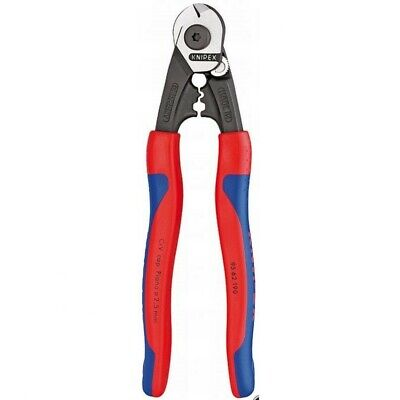 Knipex Wire Rope Cutter w/Crimper 21642