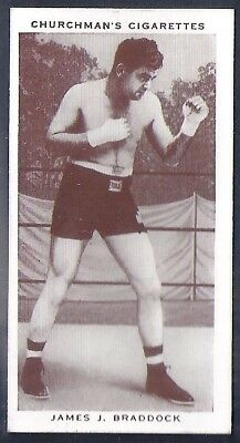 Churchman-Boxing Personalities-#06- James Braddock