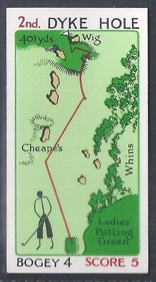 Churchman-Can You Beat Bogey At St Andrews (No Overprint)-#05- Quality Golf Card