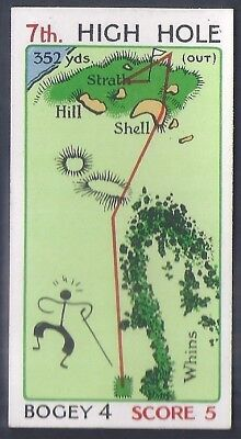Churchman-Can You Beat Bogey At St Andrews (No Overprint)-#20- Quality Golf Card