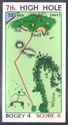 Churchman-Can You Beat Bogey At St Andrews (No Overprint)-#21- Quality Golf Card