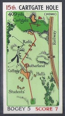 Churchman-Can You Beat Bogey At St Andrews (No Overprint)-#45- Quality Golf Card