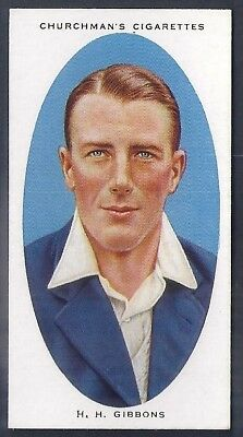 Churchman-Cricketers Cricket-#13- Worcestershire - Gibbons
