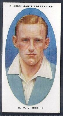 Churchman-Cricketers Cricket-#33- Middlesex - Robins