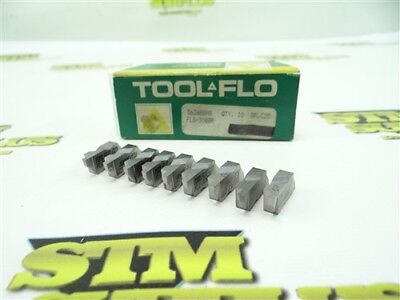 9 New Tool Flo Solid Carbide Top Notch Indexable Inserts Flg3088R C25