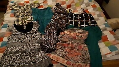 9 Ladies Tops Size 10/12 from Warehouse and Dorothy Perkins.