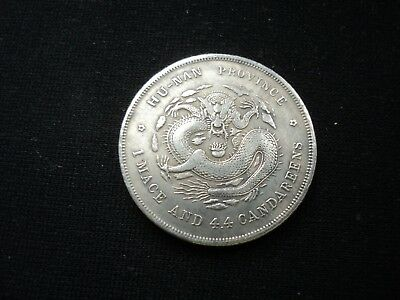 Old Chinese 20 Cents Coin Very Rare Old China Cash Antique Superb -19-
