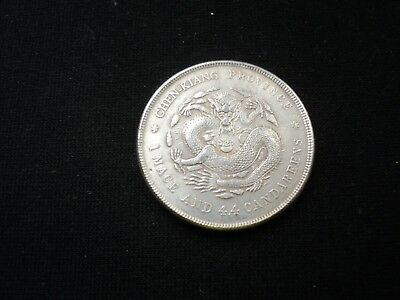 Old Chinese 20 Cents Coin Very Rare Old China Cash Antique Superb -16-
