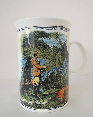 Dunoon Country Pursuits Pattern Mug by Jane Adderley made in England