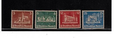 Germany B68a-d the 1935 singles from the OSTROPA sheet. Please read below.