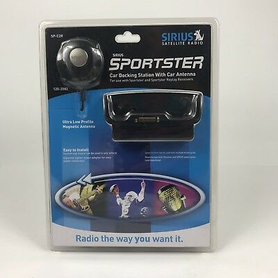 Sirius Sportster Car Docking Station With Car Antenna SP-C2R