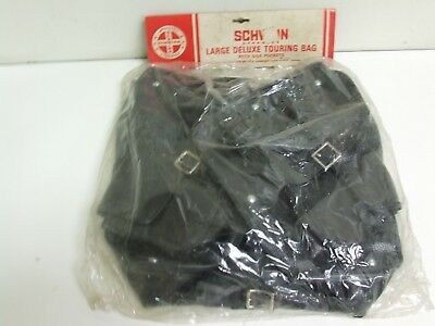 NOS Schwinn Large Deluxe Touring Bag with side pockets