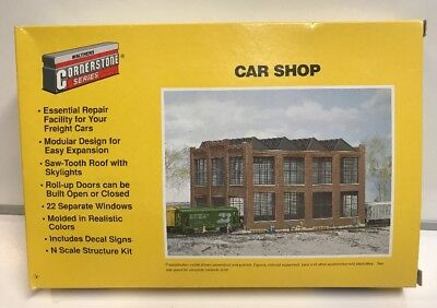 WALTHERS N SCALE Car Shop Building Kit #933-3228