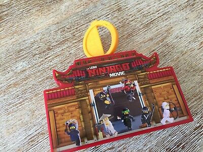 ★ Lego Ninjago Movie Film Puzzle Tresor Happy Meal Mc Donalds Mc Donald´s MCD