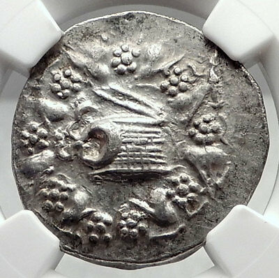 PERGAMON in MYSIA Authentic Ancient Silver Greek Tetradrachm Coin NGC i72861