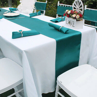 20PCS Satin Table Runner Premium Quality Wedding Party Banquet HIGH QUALITY USA