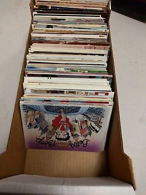 Large Lot 600 New Modern Postcards Hollywood Celeb Actors Betty Boop Rockwell