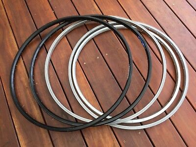 """Assorted Bicycle Rims. 700c And 26"""" All Alloy"""
