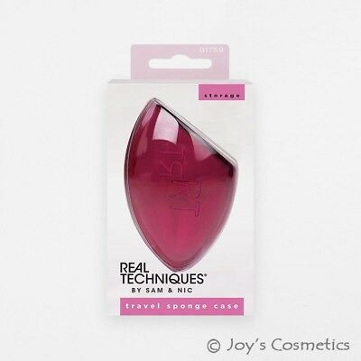 "1 REAL TECHNIQUES Travel Sponge Case for Miracle Complexion ""RT-1759"" *Joy's*"