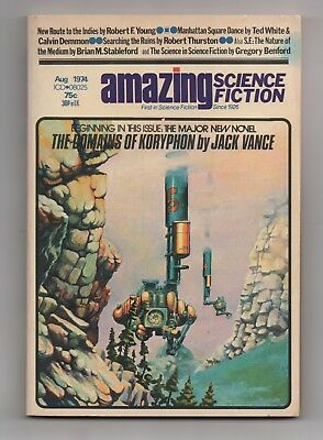 Vaughn Bode Larry Todd cover Amazing Science Fiction Aug 1974 Chaykin