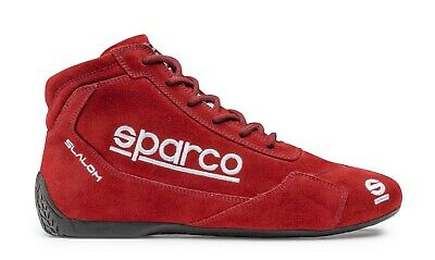 Schuhe Sparco Racing Slalom RB-3.1 Rot Genehmigt Fia 8856-2000 001264