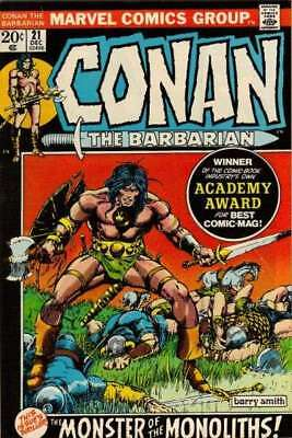 Conan the Barbarian (1970 series) #21 in Very Good + condition. Marvel comics