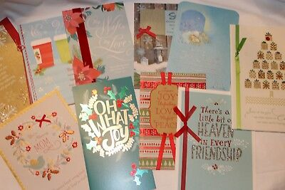 Lot of 420+ DaySpring New CHRISTMAS High Quality Greeting Cards with Envelopes