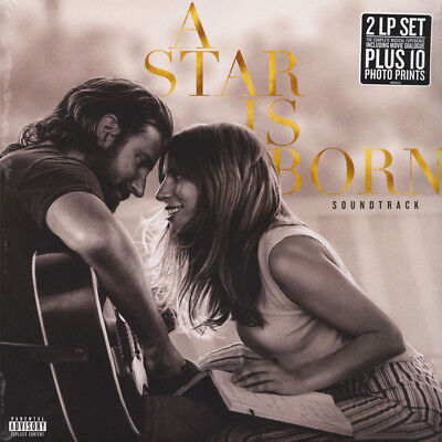 Lady Gaga / Bradley Cooper - OST A Star Is Bo (Vinyl 2LP - 2018 - US - Original)