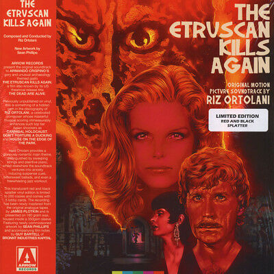 V.A. - OST Etruscan Kills Again Black Vinyl Edition (LP - 2018 - UK - Original)