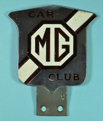 Plakette MG Car Club