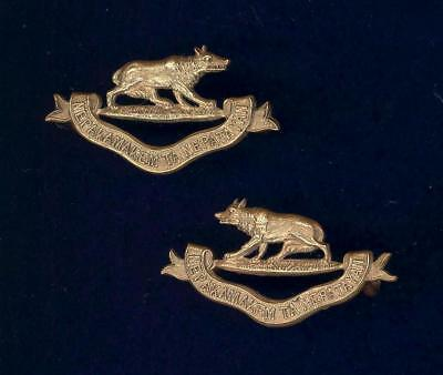 32nd Manitoba Horse.PAIR of collar badges 1912-1920 issue.  W.SCULLY MONTREAL