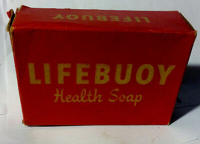 Vintage 1930's LIFEBUOY Health Soap Unused In Original Box