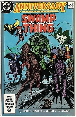 Swamp Thing #50 VF+ (Jul 1986, DC) First Appearance of the Justice League Dark.